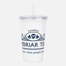 moriarteanewblue.png Acrylic Double-wall Tumbler