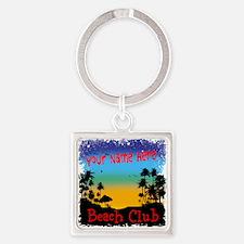 Morning Beach Club Keychains