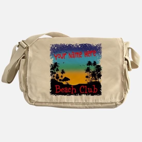 Morning Beach Club Messenger Bag