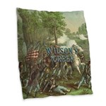 Abh Wilson's Creek Burlap Throw Pillow
