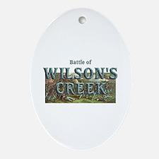 ABH Wilson's Creek Ornament (Oval)