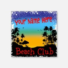 Morning Beach Club Sticker