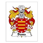 Bessa Family Crest Small Poster