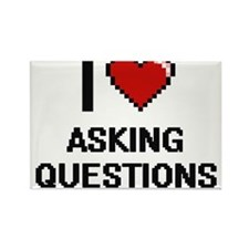I Love Asking Questions Digitial Design Magnets