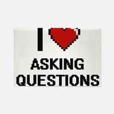 I Love Asking Questions Digitial Design Magnets