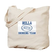 ROLLA drinking team Tote Bag