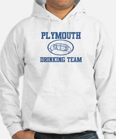 PLYMOUTH drinking team Hoodie