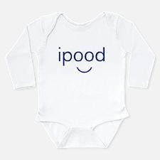 Funny Cute face Long Sleeve Infant Bodysuit