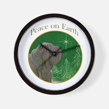 Neo Peace Wall Clock
