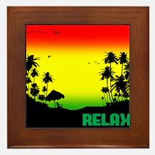 relaxation Framed Tile