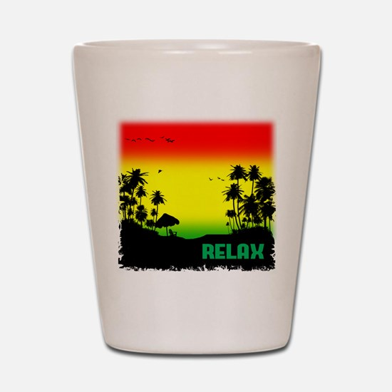relaxation Shot Glass