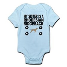 My Sister Is A Rhodesian Ridgeback Body Suit