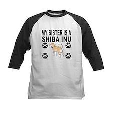 My Sister Is A Shiba Inu Baseball Jersey