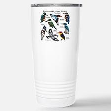 Kingfishers of the Worl Travel Mug