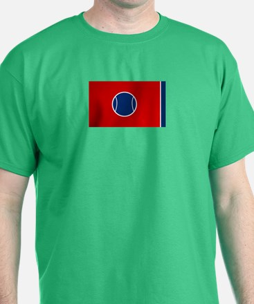Tennessee State Tennis Flag T-Shirt