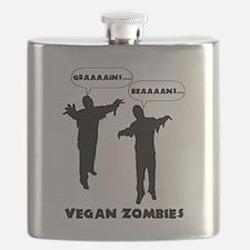 Vegan Zombies Flask