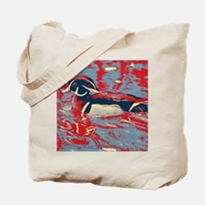 Cute Wood ducks Tote Bag