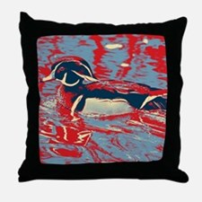 Unique Wood ducks Throw Pillow