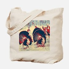 vintage american wild turkey Tote Bag