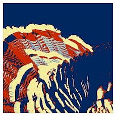 vintage american wild turkey Poster