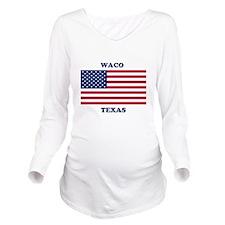 Waco Texas Long Sleeve Maternity T-Shirt