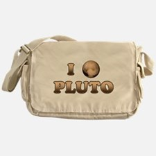 I Love Pluto Messenger Bag