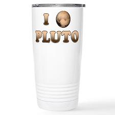 I Love Pluto Travel Mug