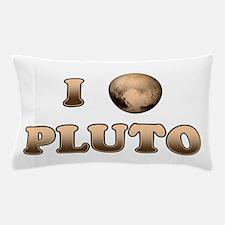 I Love Pluto Pillow Case