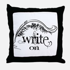 Write On Throw Pillow