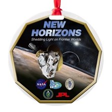 New Horizons Pluto Mission Ornament