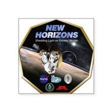 New Horizons Pluto Mission Sticker