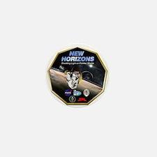 New Horizons Pluto Mission Mini Button