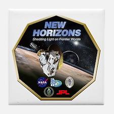 New Horizons Pluto Mission Tile Coaster