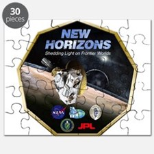 New Horizons Pluto Mission Puzzle