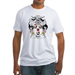Bem Family Crest Fitted T-Shirt