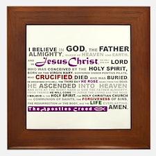 Cute Christianity Framed Tile