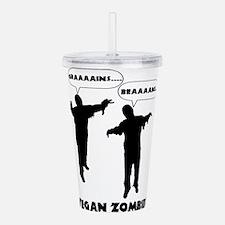 Vegan Zombies Acrylic Double-wall Tumbler