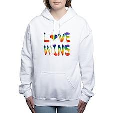 Love wins Women's Hooded Sweatshirt