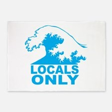 Locals Only 5'x7'Area Rug