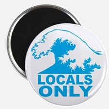 Locals Only Magnets