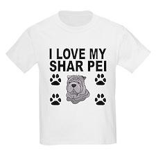 I Love My Shar Pei T-Shirt