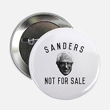 "Bernie Sanders Not For Sale 2.25"" Button"