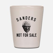 Bernie Sanders Not For Sale Shot Glass