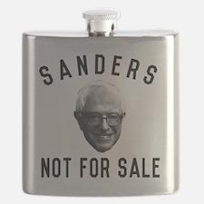 Bernie Sanders Not For Sale Flask