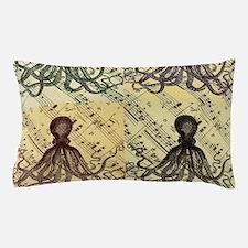 vintage nautical steampunk octopus Pillow Case