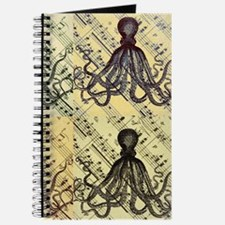 vintage nautical steampunk octopus Journal