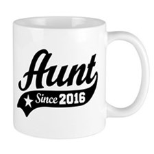 Aunt Since 2016 Mug