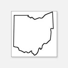 Ohio Outline Sticker