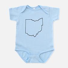 Ohio Outline Body Suit