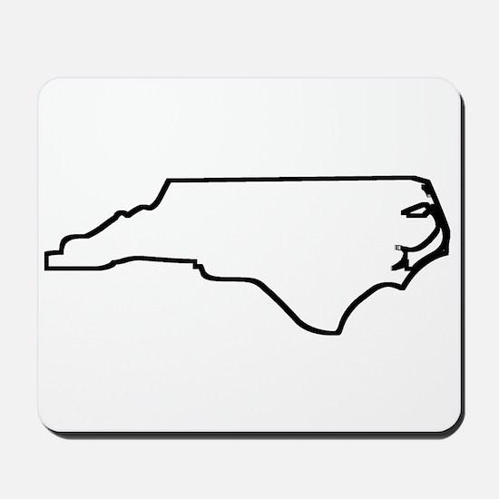 North Carolina Outline Mousepad